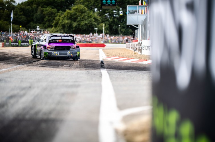 Saturday images from the 2019 World RX of France