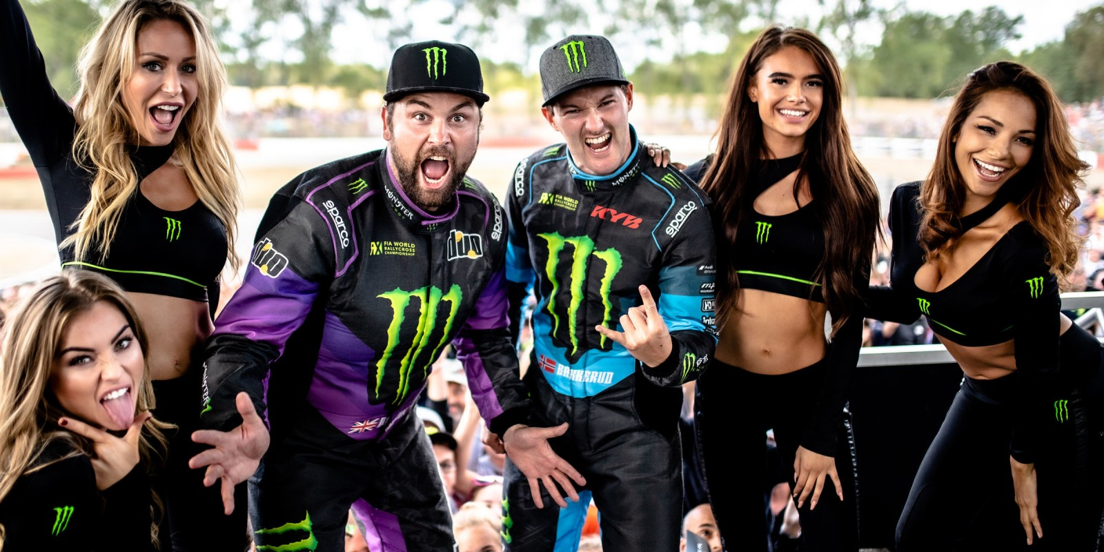Sunday images from the 2019 World RX of France