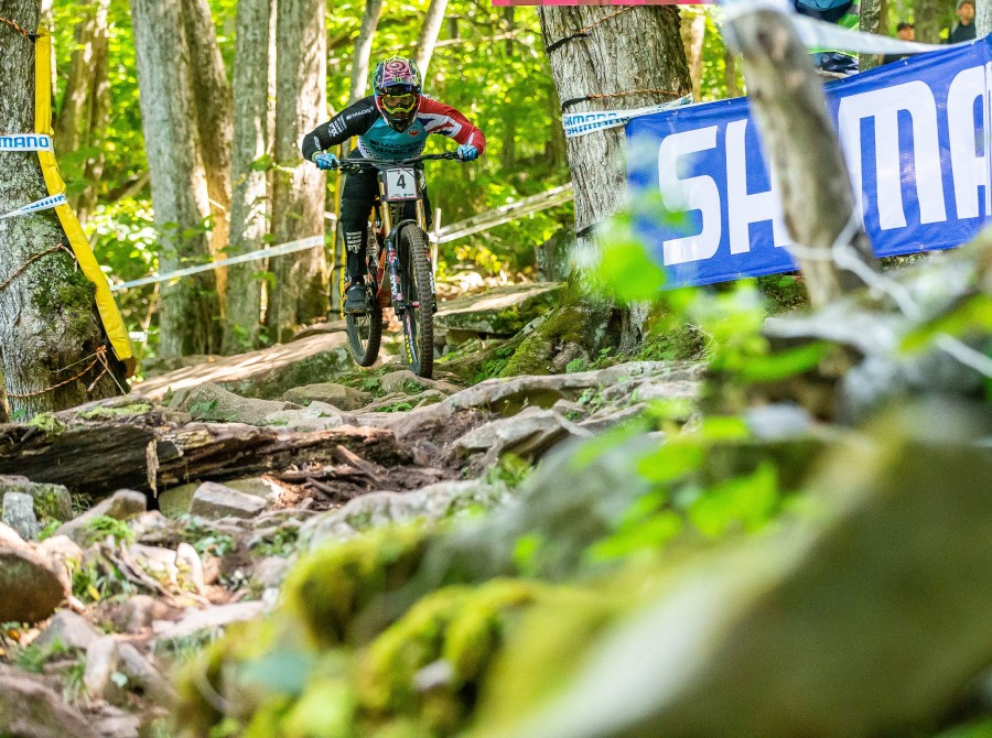 Images from the final Mountain Trail bike Downhill World Cup of the 2019 season in Snowshoe, West Virginia.