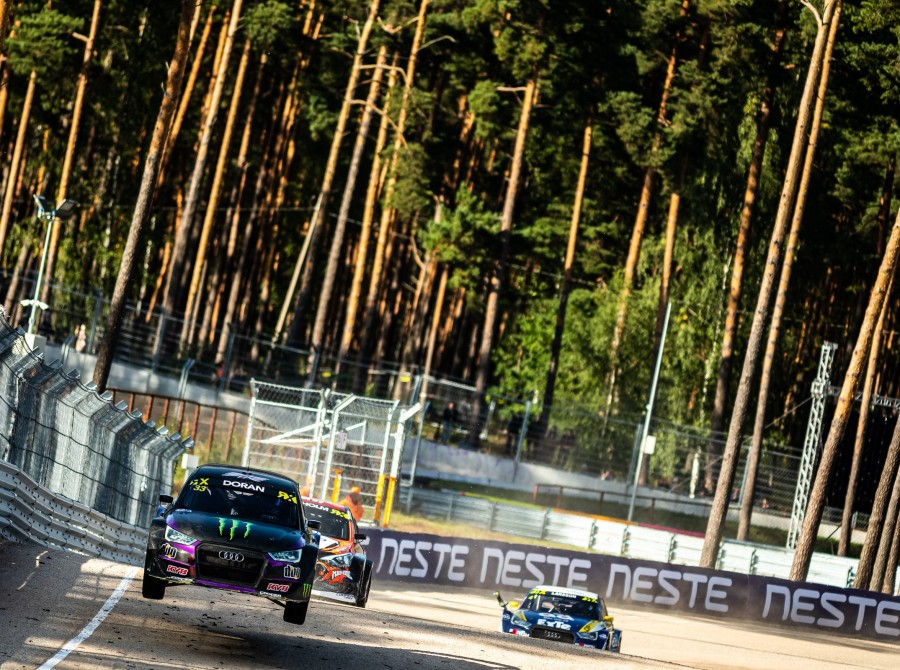 Saturday images from the 2019 World RX of Latvia