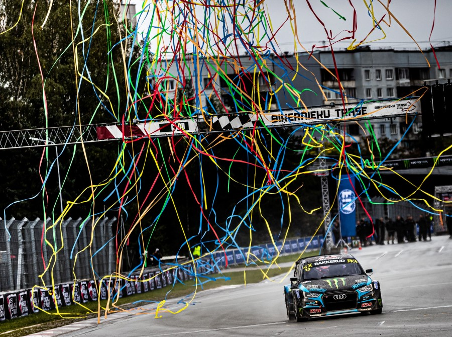 Sunday images from the 2019 World RX of Latvia