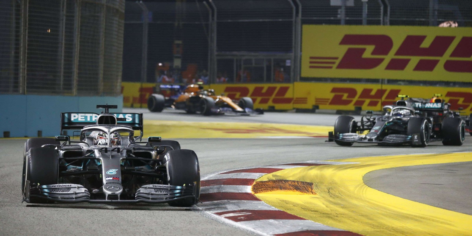 Images from the 2019 F1 Singapore Grand Prix