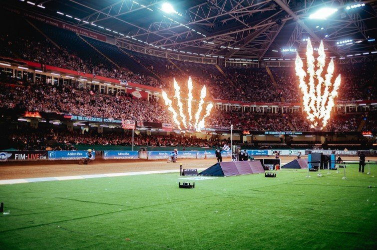 Images from the 2019 British Speedway Grand Prix