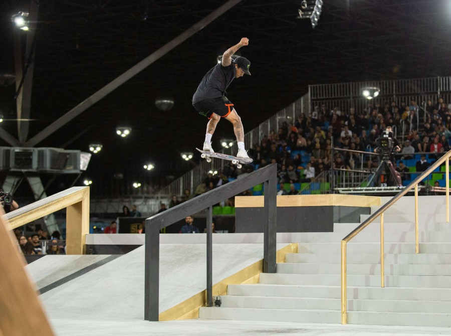 Images from the 2019 Street League event in Sao Paulo