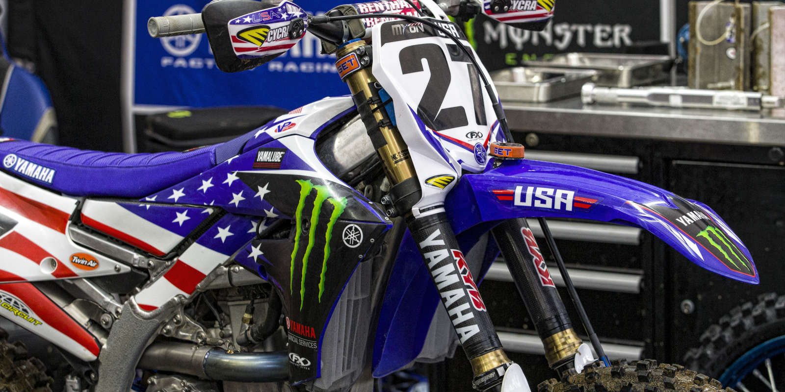 Justin Barcia at the 2018 Motocross of Nations