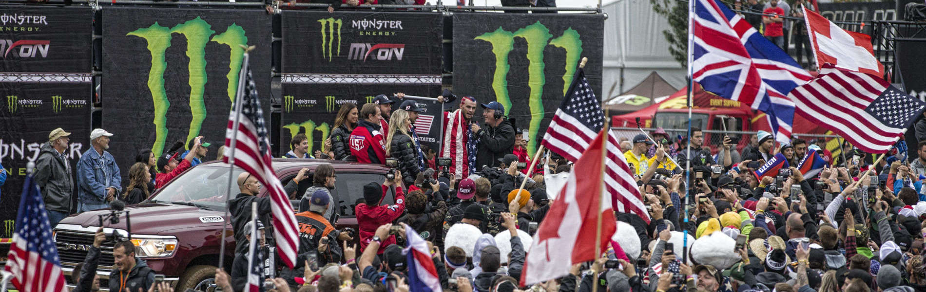 Team USA at the 2018 Motocross of Nations