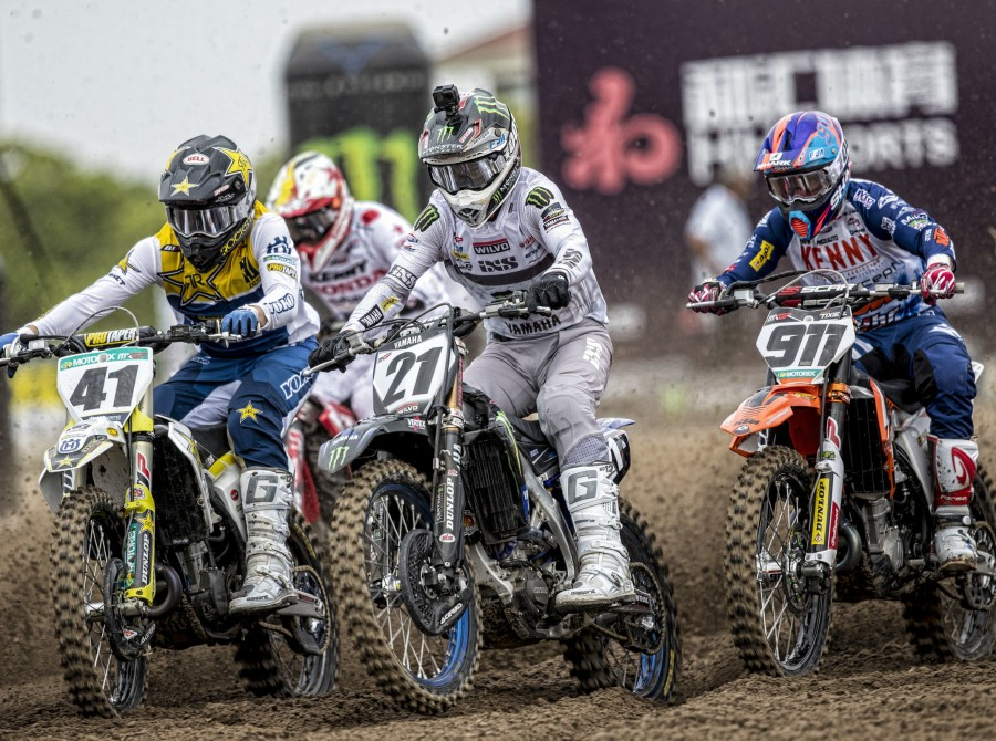 Gautier Paulin at the 2019 Grand Prix of China