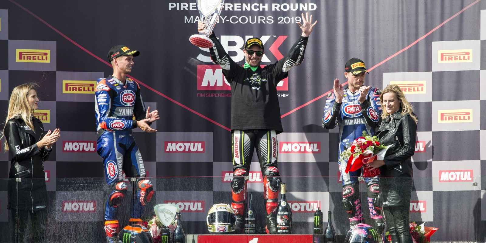 Jonathan Rea at the 2019 WorldSBK French round: World Champion