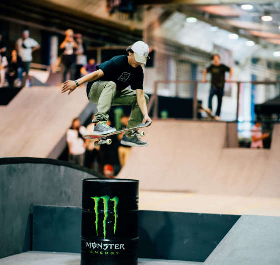 Pictures from Monster Sessions at DTF festival sponsored by Monster in Kyiv, Ukraine