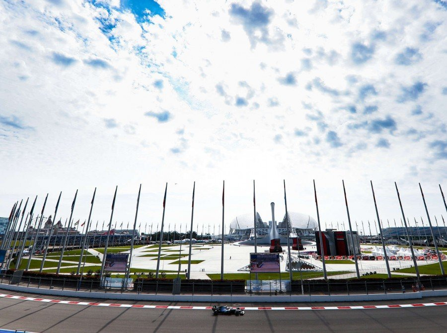 Images from the 2019 F1 Russian Grand Prix