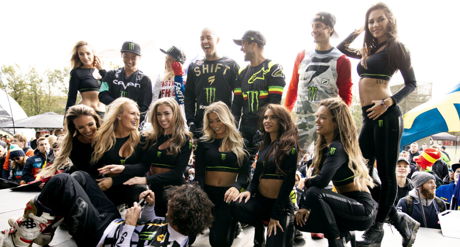 Final day of MXoN in Assen, Netherlands with Monster Girls