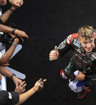 Fabio Quartararo at the 2019 Grand Prix of the Thailand