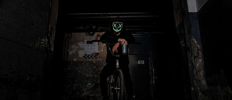 Halloween photoshoot for the hungarian market with Monster Energy ambassadors in 2019