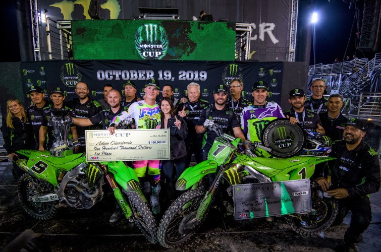 Images from the 2019 Monster Energy Cup at the Sam Boyd Stadium in Las Vegas, NV.