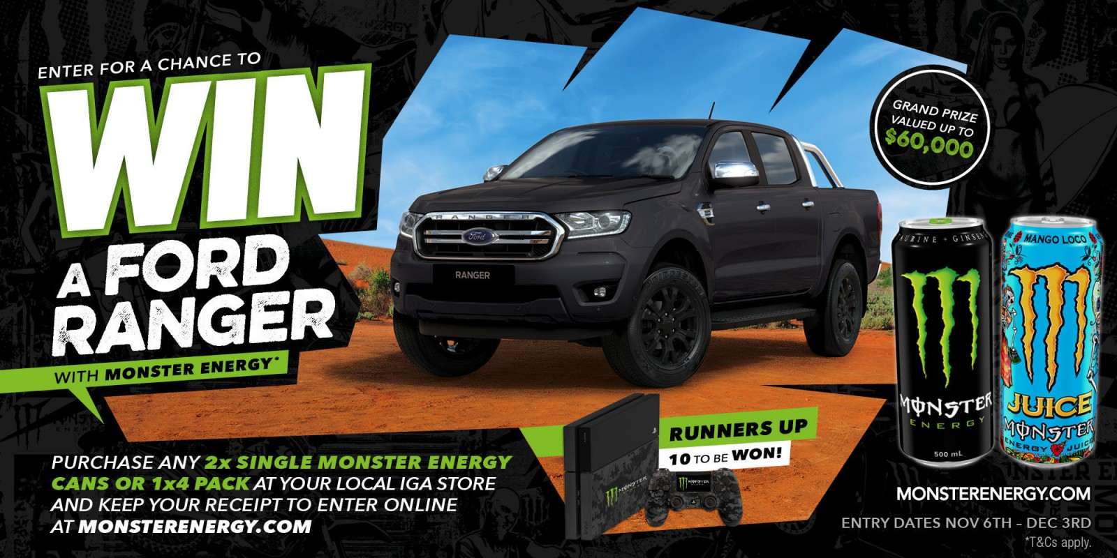 Win A Ford Ranger