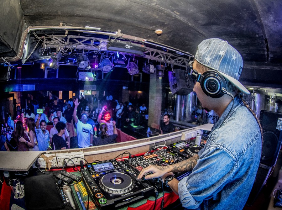 These are images from Ultra Nights in India  featuring DJs who are a part of a contract with Infinite Dreams Entertainment