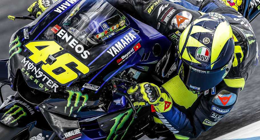 Valentino Rossi at the 2019 Grand Prix of the Australia