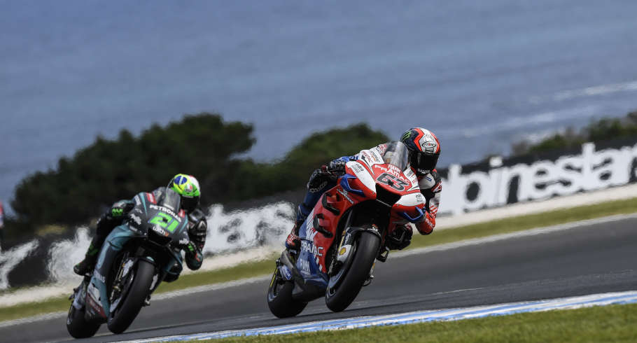 Pecco Bagnaia at the 2019 Grand Prix of the Australia