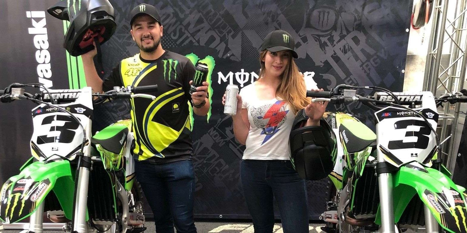 Winners of the Kawasaki promotion in Argentina