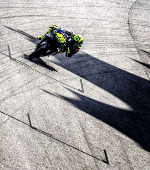 Valentino Rossi at the 2019 Grand Prix of the Malaysia
