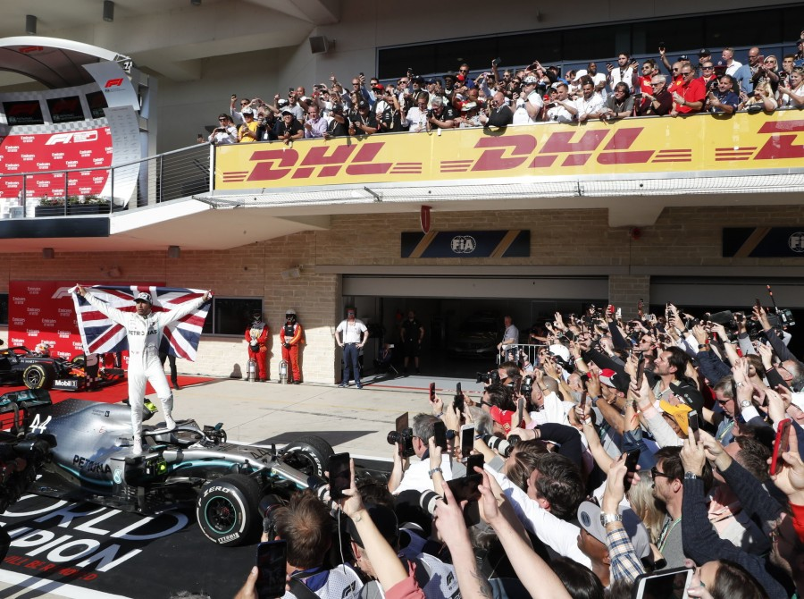 Images from the 2019 Formula One US Grand Prix
