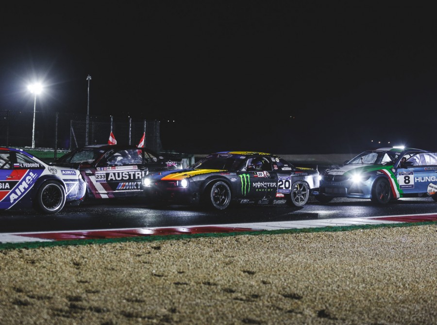 Images of Dmitriy Illyuk at the 2019 FIA Motorsport Games in Rome