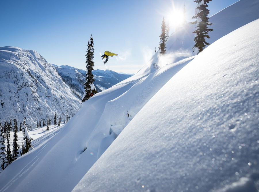 Action and lifestyle shots from the making of Powderhounds - Volume 2