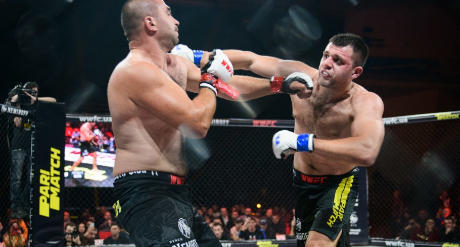 Pictures from the MMA tournament WWFC16 in Kharkiv, sponsored by Monster