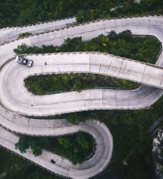 Ken Block and his Hoonitruck take on one of the most dangerous roads in the world in Climbkhana Two: Tianmen Mountain in China.