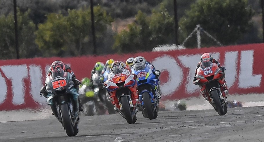 Images from the 2019 MotoGP event in Valencia, Spain