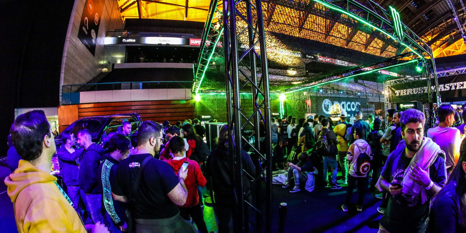Ambient photos of Gaming event at Lisbon, Portugal