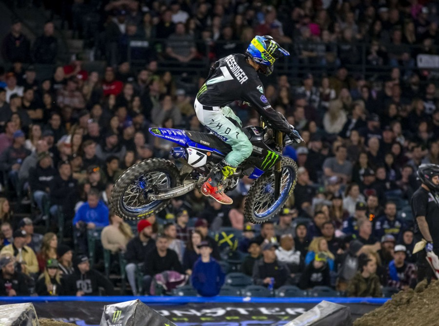 Images taken at the second stop in Anaheim of the 2019 Supercross season