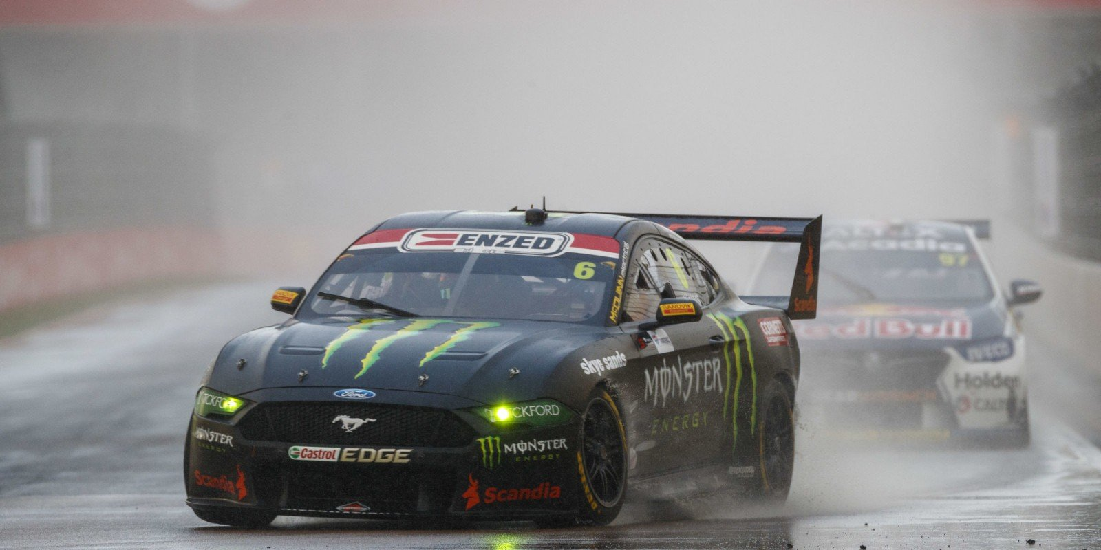 Cam Waters Podium Finish at Townsville V8 Supercars - Tickford Racing Monster Mustang