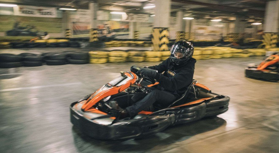 Pictures from the go-karts battle between Monster Music rosters Fever 333 (US) and Detach (Ukraine).