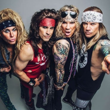 Steel Panther web res and high res promo images