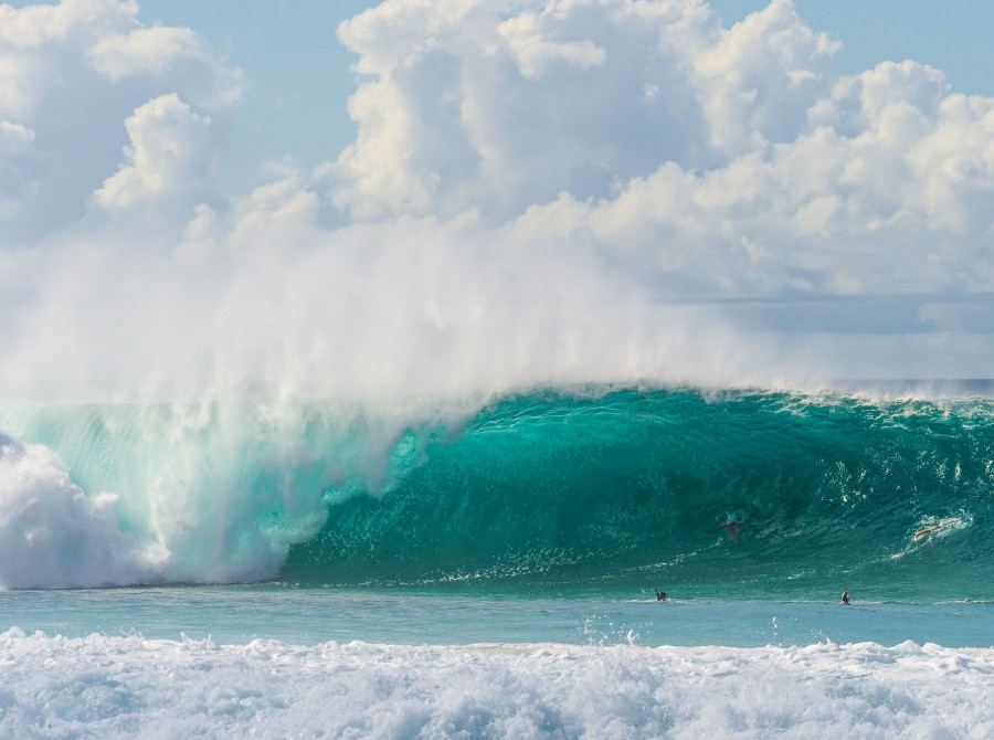 Images form the 2019 Billabong Pipe Masters at Banzai Pipeline, Oahu, Hawaii
