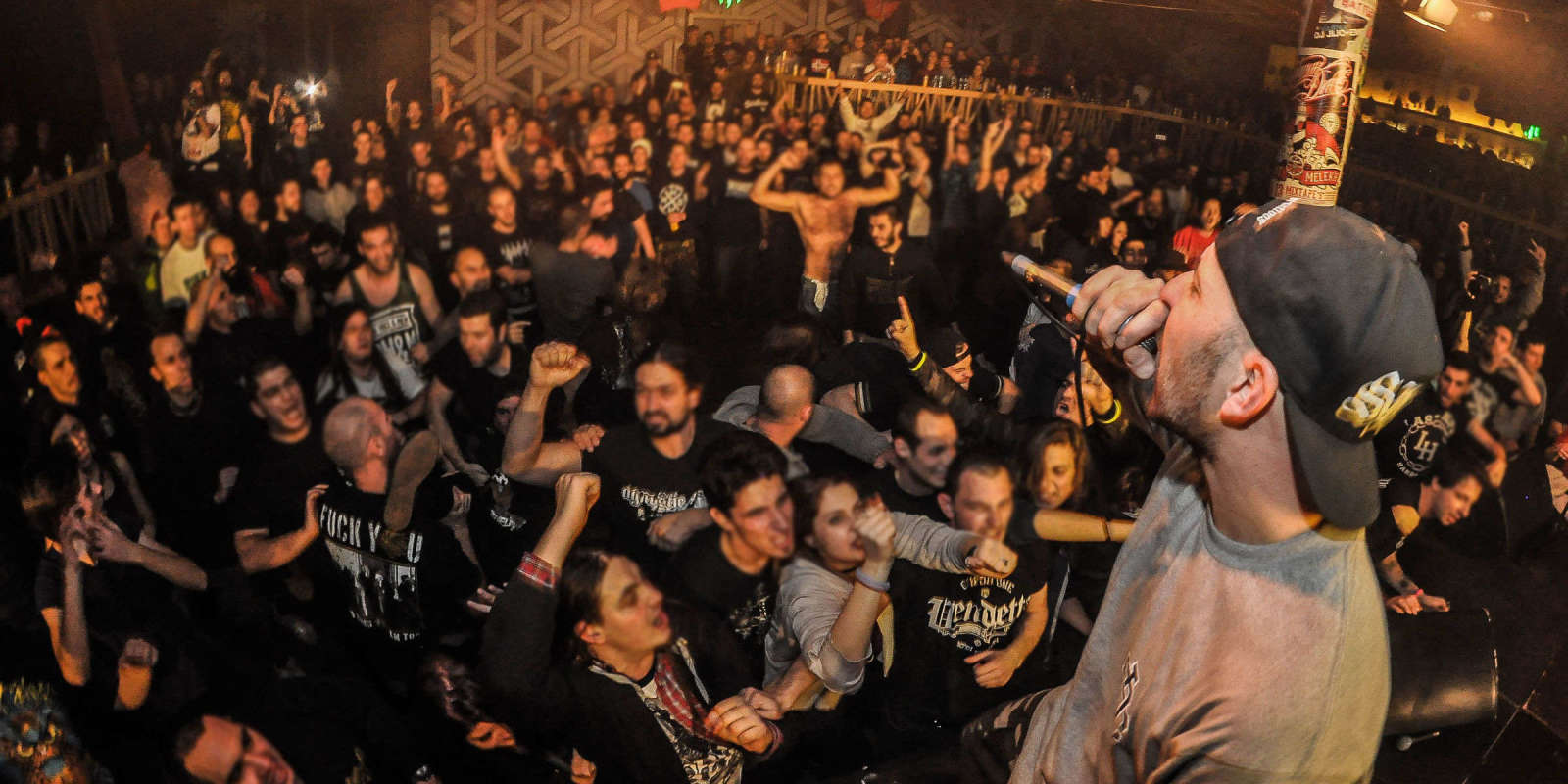One of the biggest hardcore music festivals of the year. Supported by ME band Last Hope played together with another 10 bands from the Balkans and Germany.