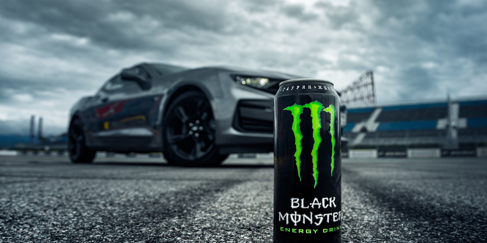 photos for Black Monster on can camaro promo