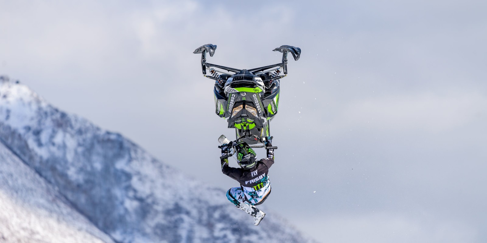 Heath Frisby competing in the 2019 Winter X Games