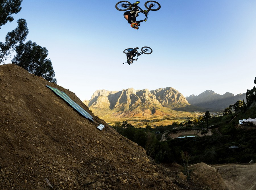 Monster athletes at Darkfest in Stellenbosch 2019