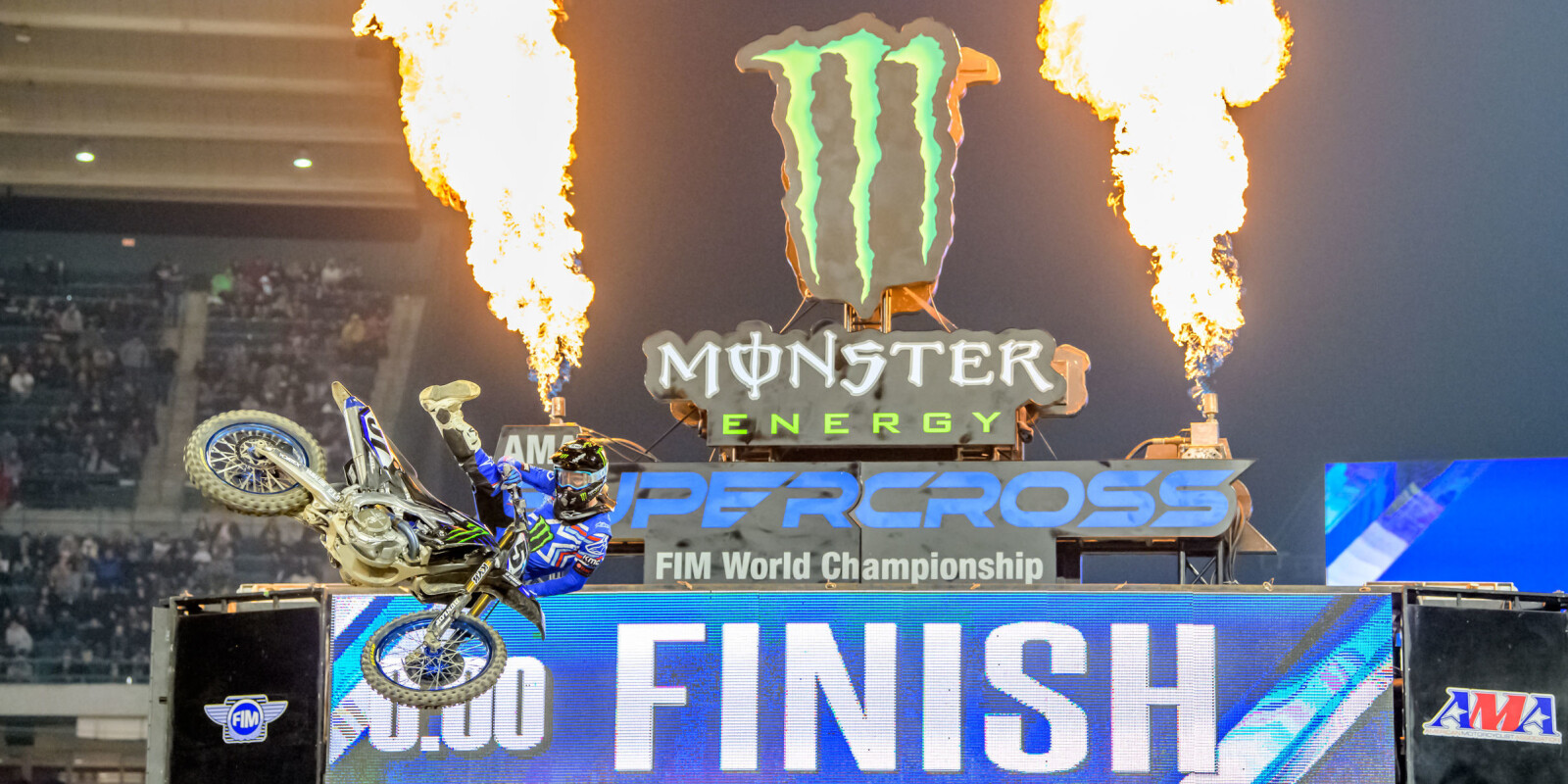 Images from the 2020 SX Anaheim 1
