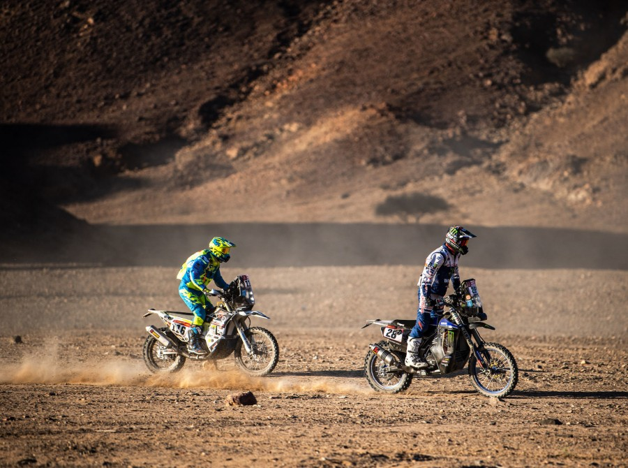 McCanney during Dakar 2020