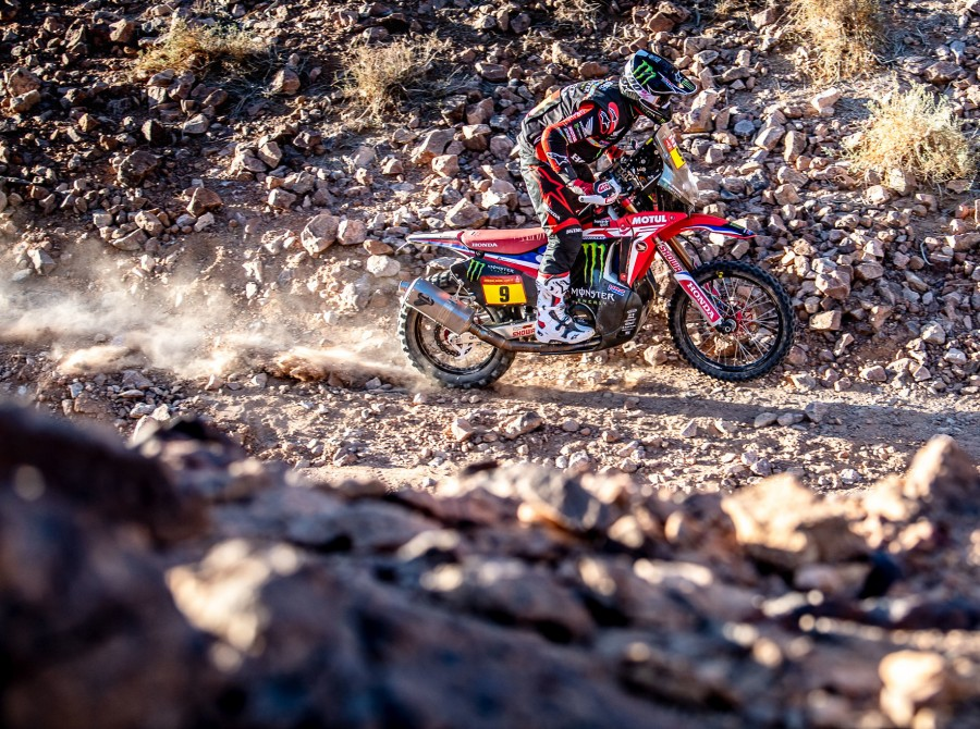 Brabec during Dakar 2020