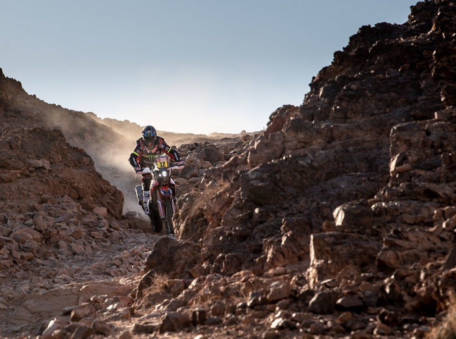 Barreda during Dakar 2020