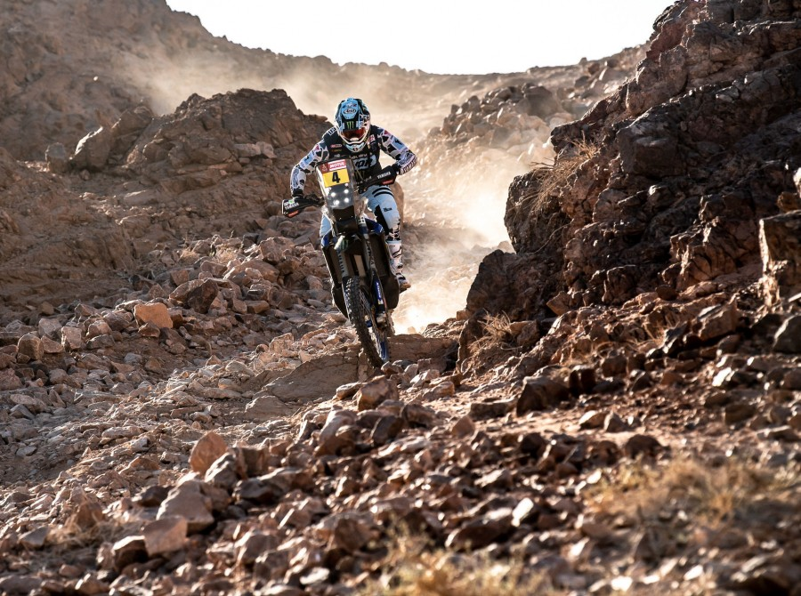 Van Beveren during Dakar 2020