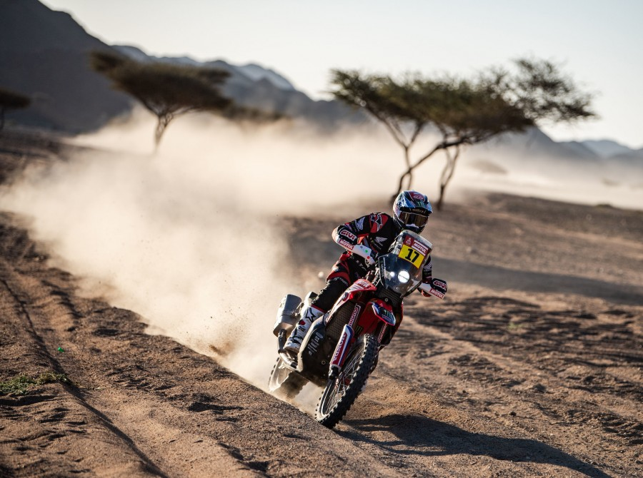 Cornejo during Dakar 2020