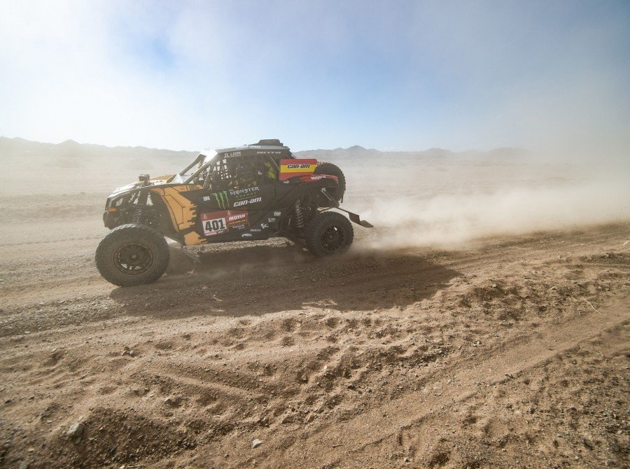 Farres during Dakar Rally