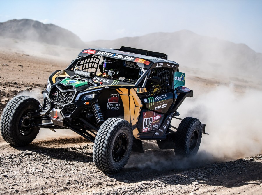 Varela during Dakar Rally
