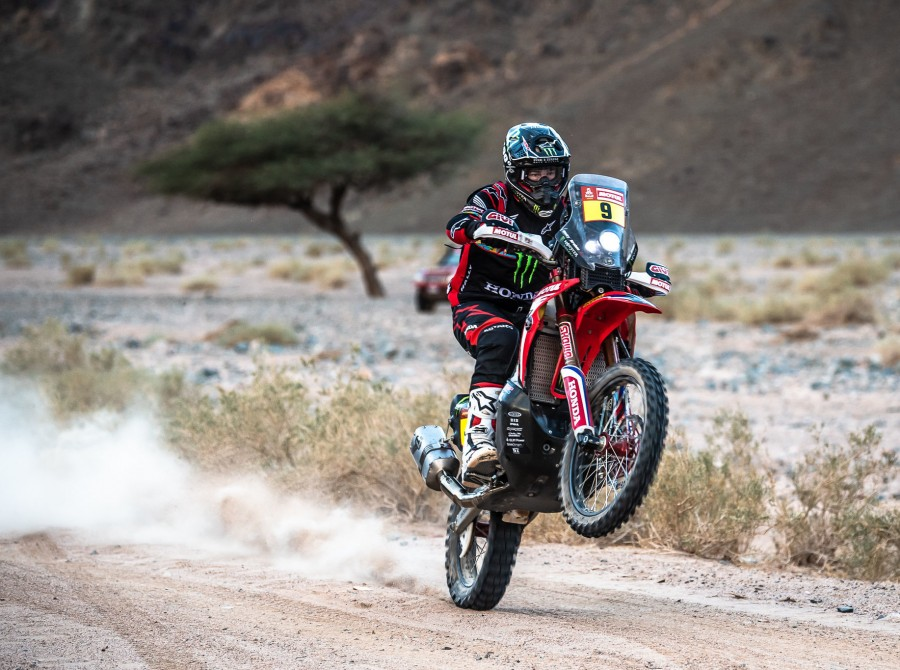 Brabec during Dakar Rally