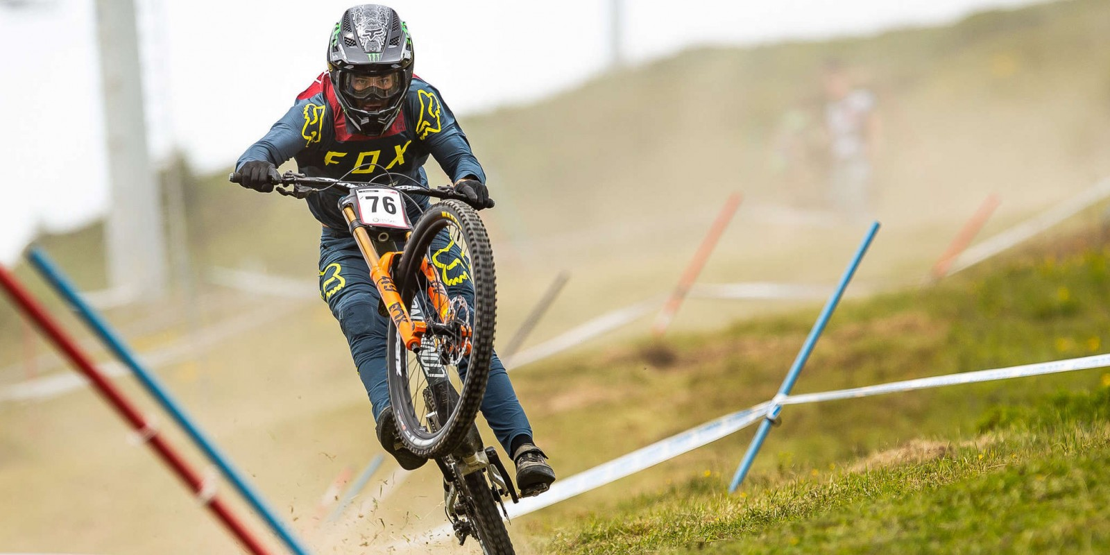 Images from the 2019 Mountain Bike World Cup Les Gets, France.